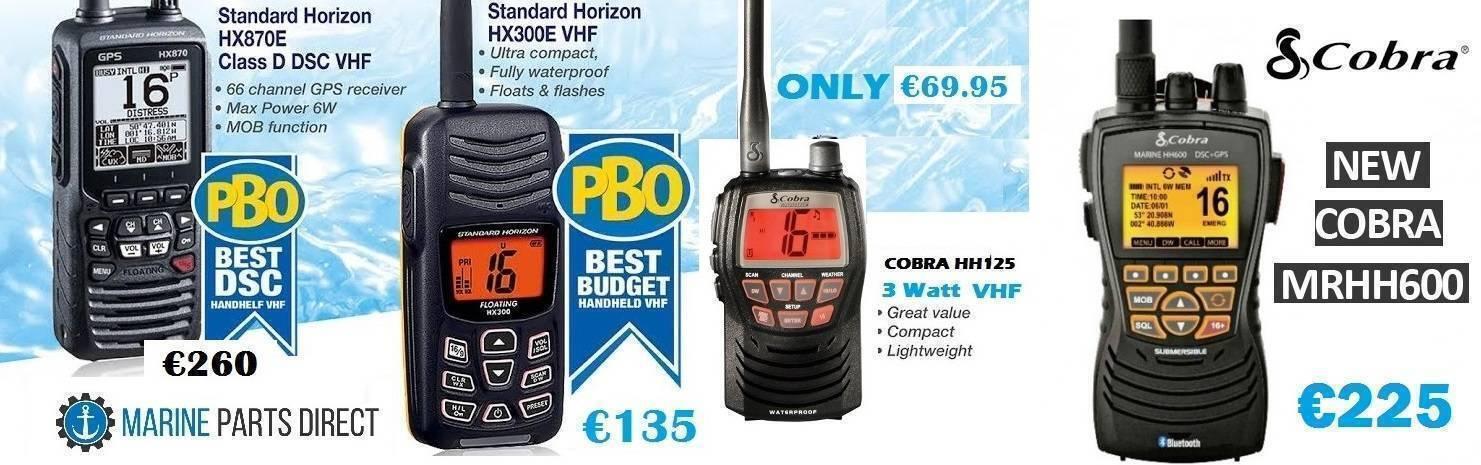 VHF Boat Electronics